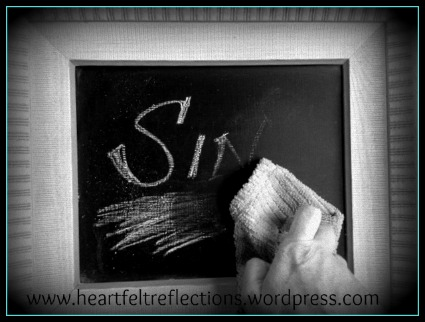 God gives us a clean slate! Grace for the sinner at www.heartfeltreflections.wordpress.com