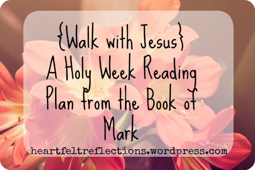 Walk with Jesus plan